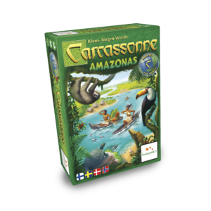 Carcassonne: Amazonas er en udvidelse i franchisets 'Around The World' serie
