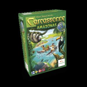 Carcassonne: Amazonas er en udvidelse i franchisets 'Around The World' serie